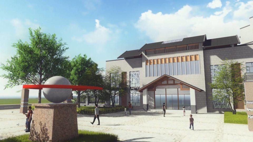 德化新寨小学、新寨幼儿园 效果+建筑动画