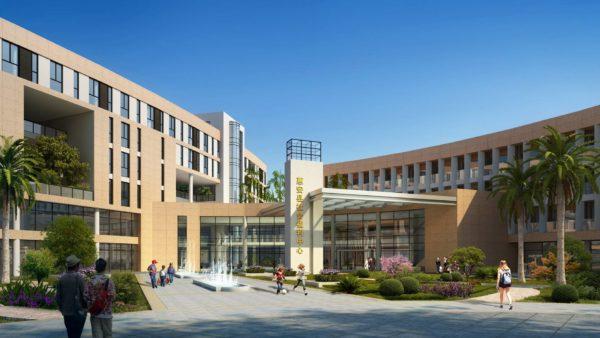 惠安县社会福利中心设计投标稿