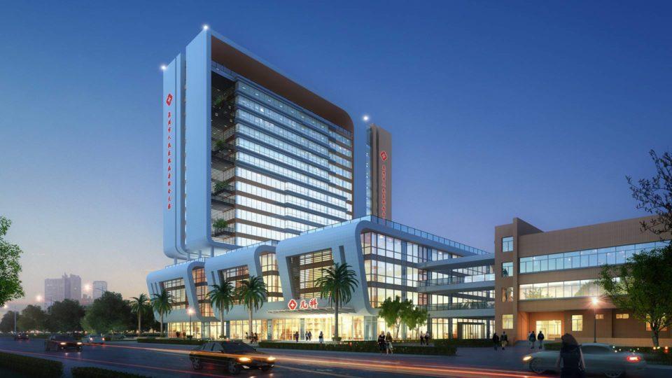 泉州某医院二期综合病房大楼设计