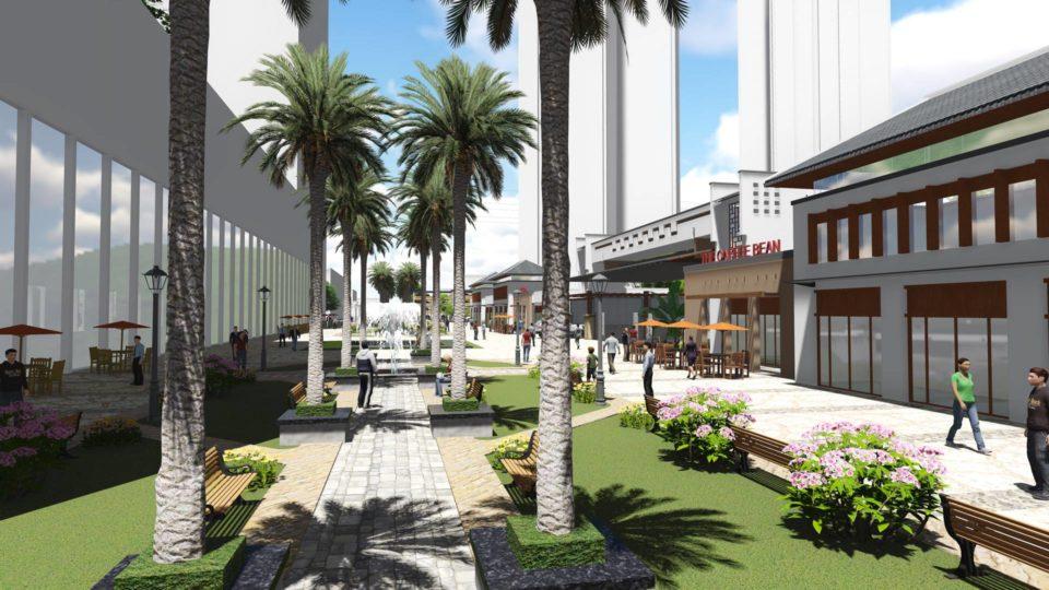 泉州某综合项目设计 效果+建筑动画