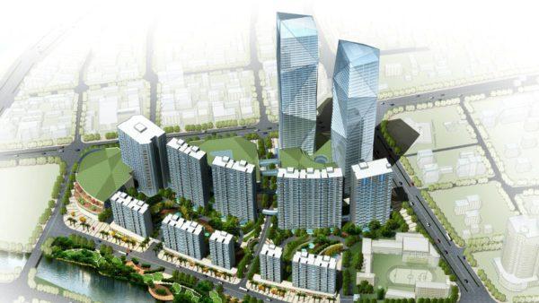 盐城某办公、居住、商业综合体项目