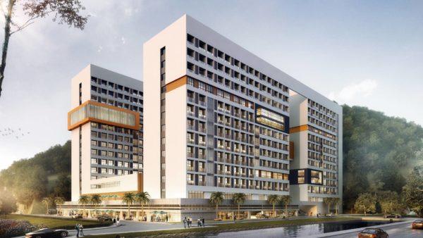 福安某医院公寓设计