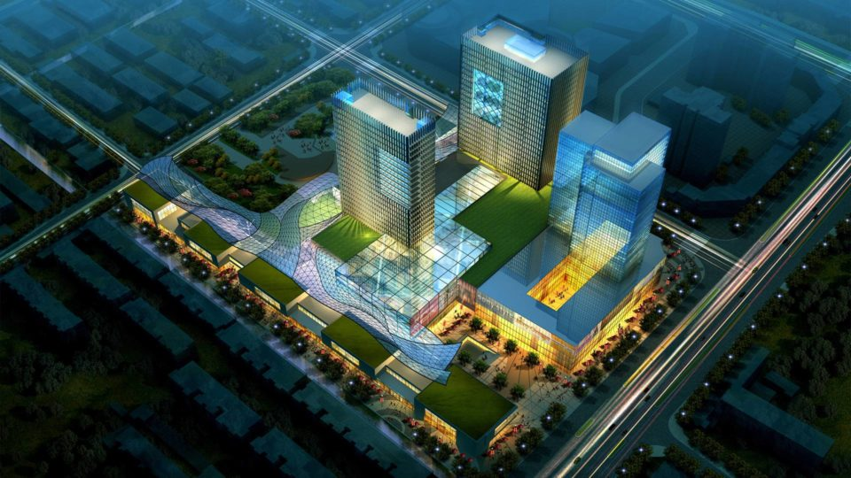 苏州某办公、商业综合体项目