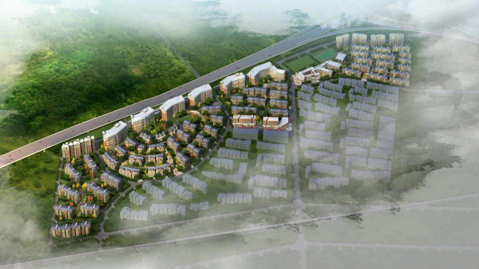南京某居住小镇规划设计
