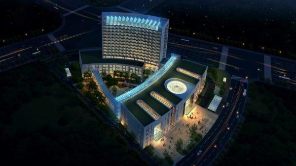南京某中医院设计