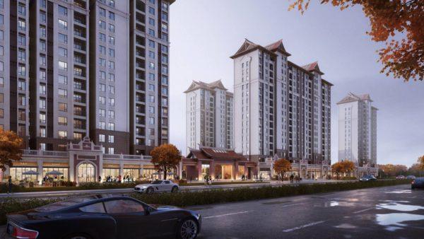 晋江某居住区设计
